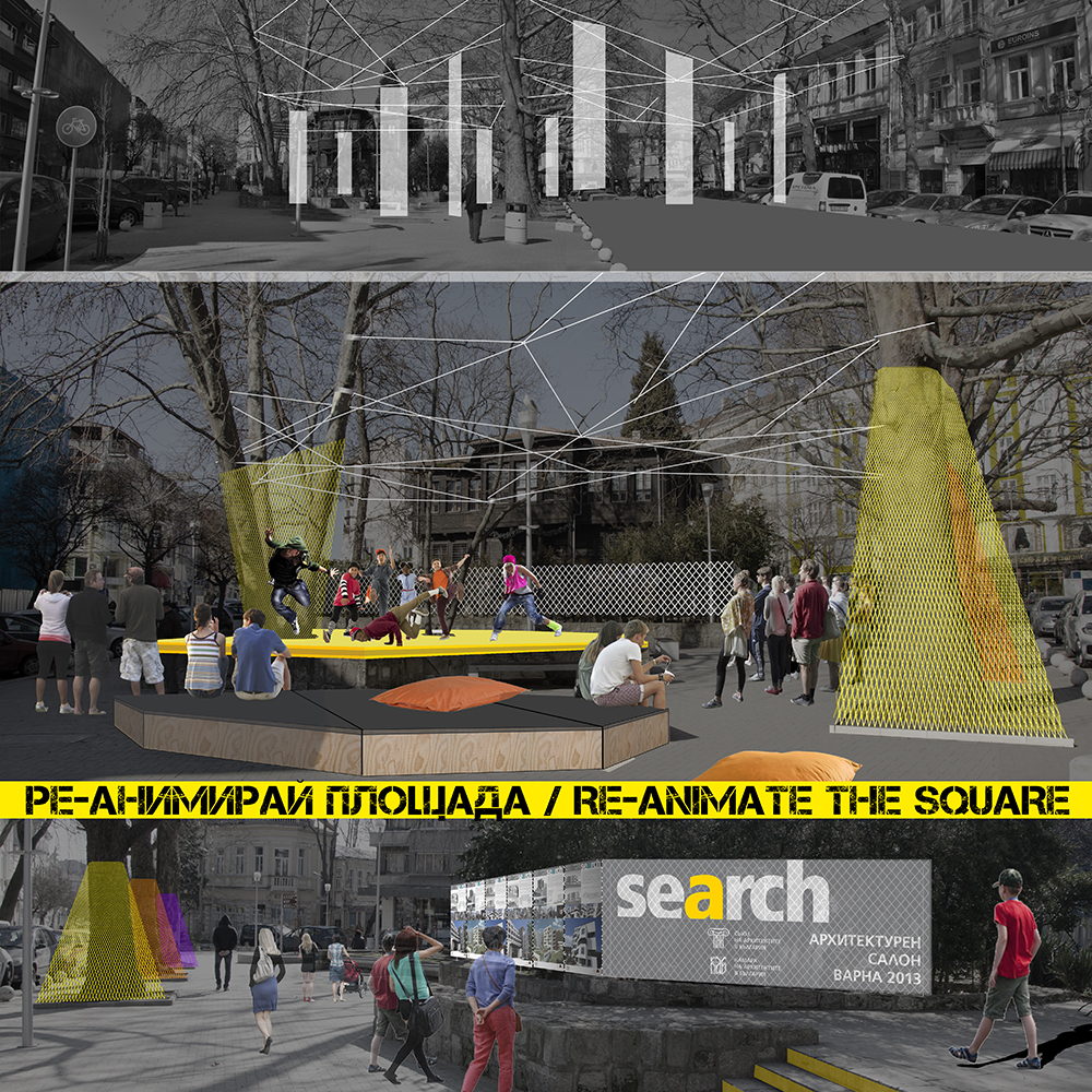 RE-ANIMATE THE SQUARE