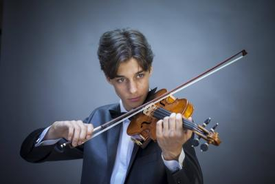 "Participation of the young violinist from Varna Martin Zayranov in the preliminary selection for the 55-th International Competition ""Premio Paganini"" in Genoa, Italy - 24 - 25 oct. 2017"